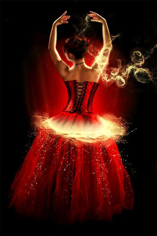 fire-ballerina-girl-dancing
