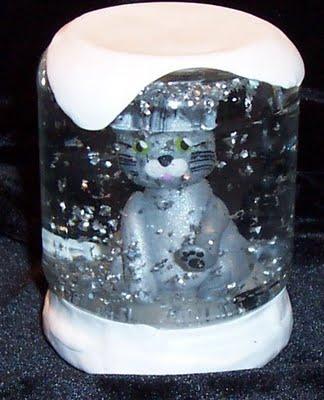 Boule+à+neige+chat