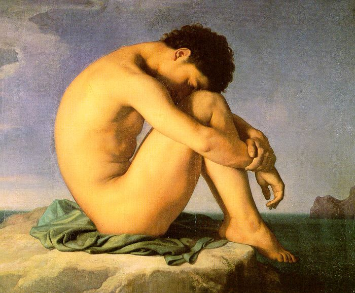 flandrin_hippolyte_1805-1864_-_jeune_homme_nu_assis_1855_-_louvre