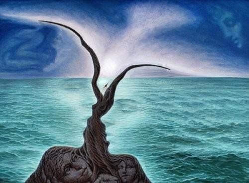 octavio ocampo-le-baiser-de-la-mer
