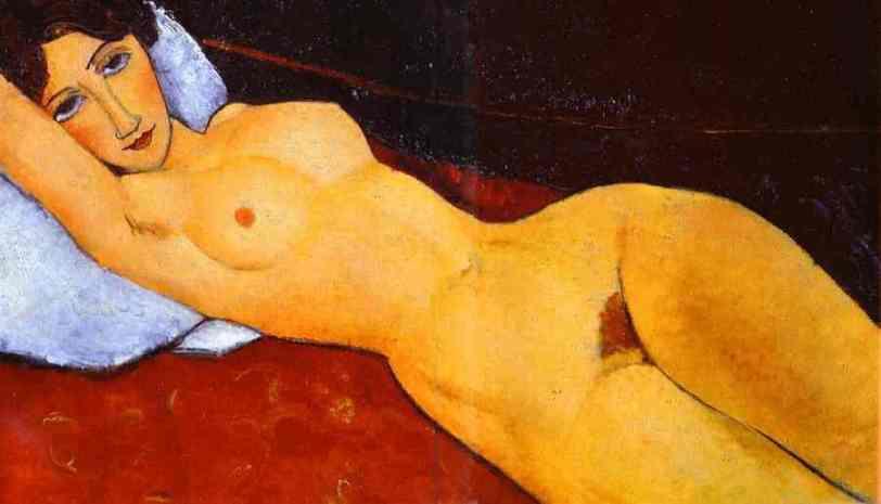 Amedeo Modigliani - Reclining Nude