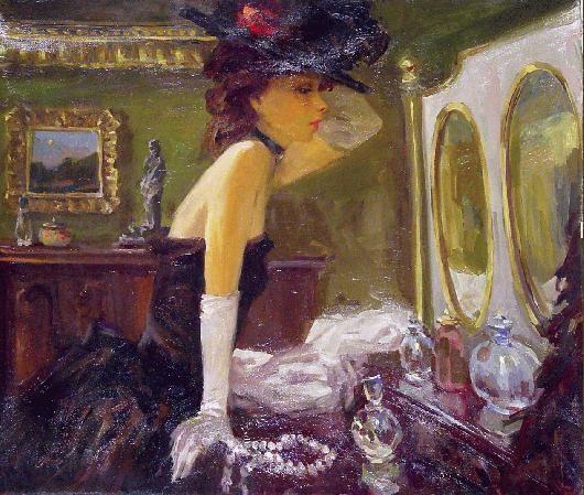 chapeau-et-miroir