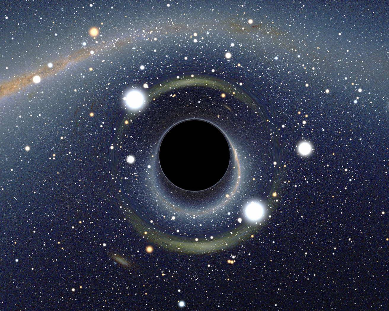 Magies noire et blanche, Loges noire et blanche , Feu NOIR et Feu Blanc... Trou-noir-stellaire