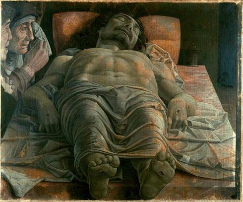 André Mantegna - Le Christ Mort, 1480-1490