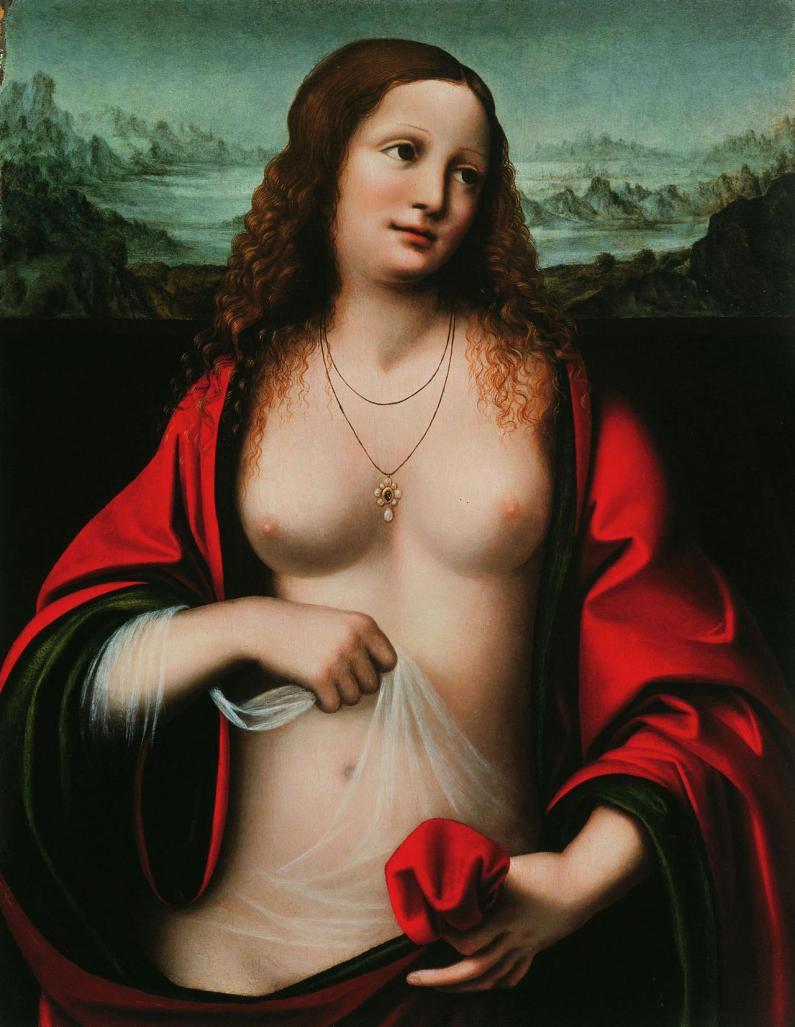 Marie Madeleine_Léonard de Vinci