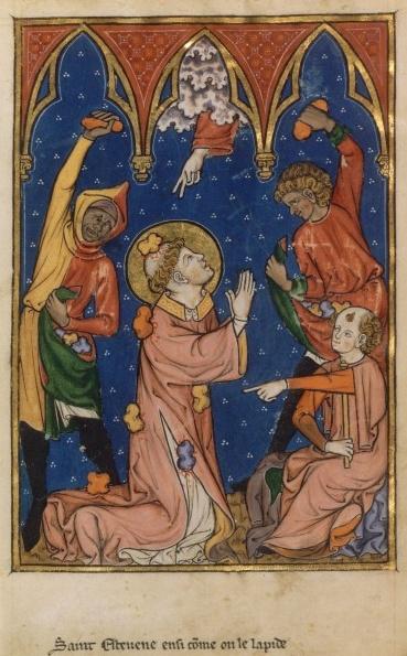 Martyre de saint Etienne.