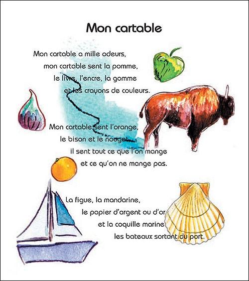 Pierre gamarra arbrealettres - Image d un cartable ...
