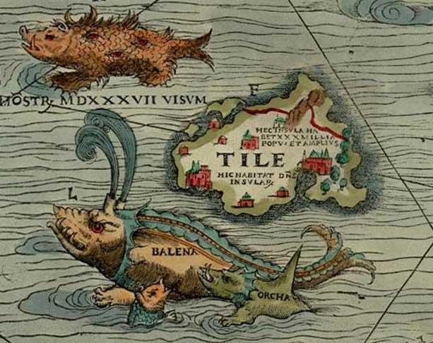 THULE - Ilustración del Periplo de Piteas