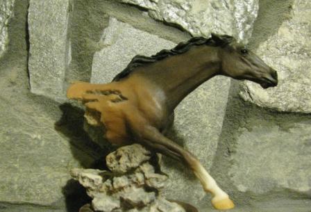 cheval de pierre