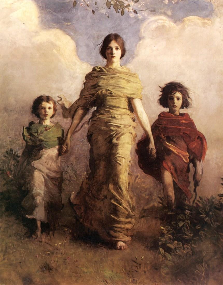 Abbott Handerson Thayer_A_Virgin_1892-3