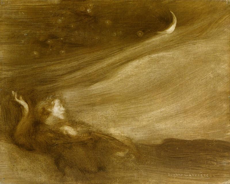 Eugène Carrière Moonlight