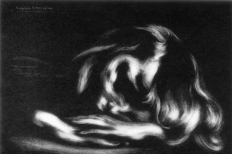 Eugène Carrière  sommeil p
