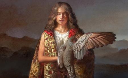 faucon femme