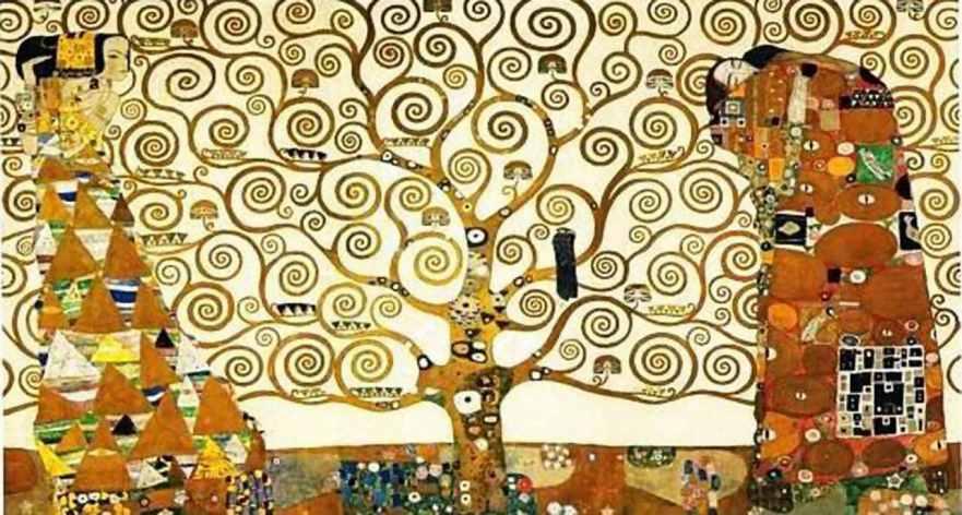 Gustav Klimt arbre de vie  tree-of-life-klimt-lg