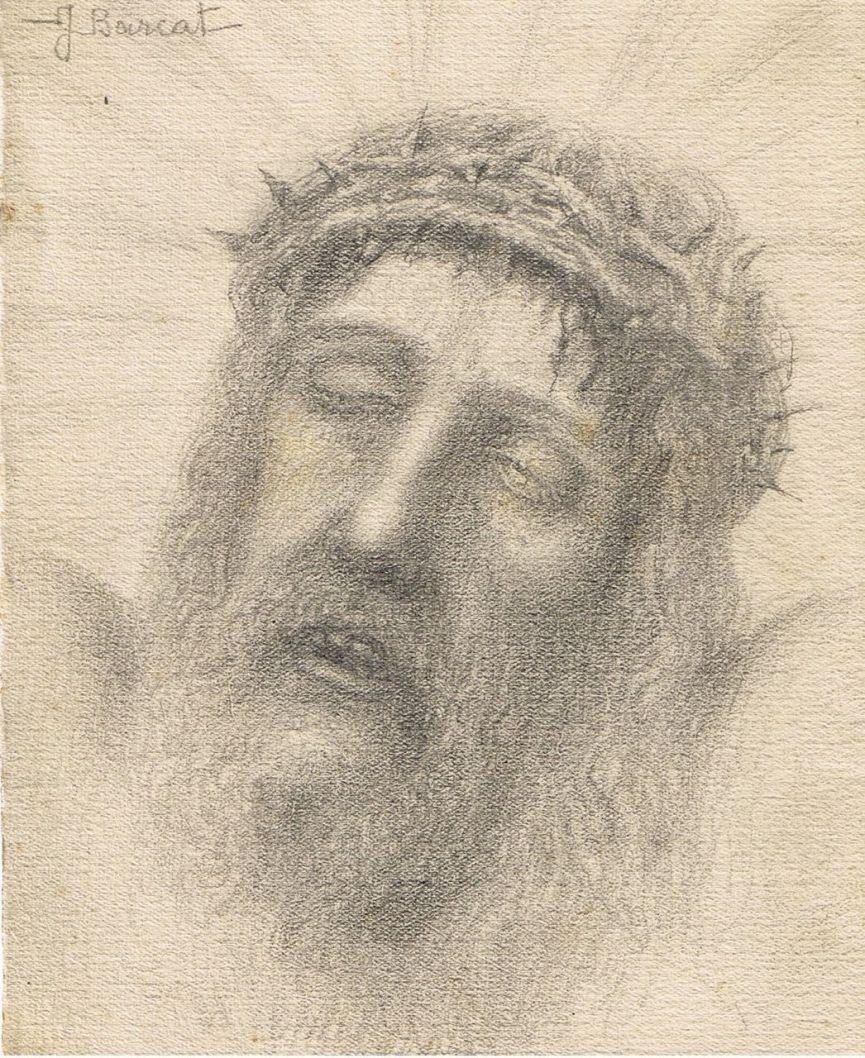 Jacques Barcat   Agonie du Christ en croix