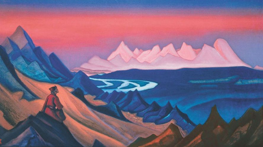 Nicholas Roerich. Song of Shambhala