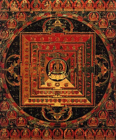 Tibet-Abhisambodhi-Vairocana-Mandala