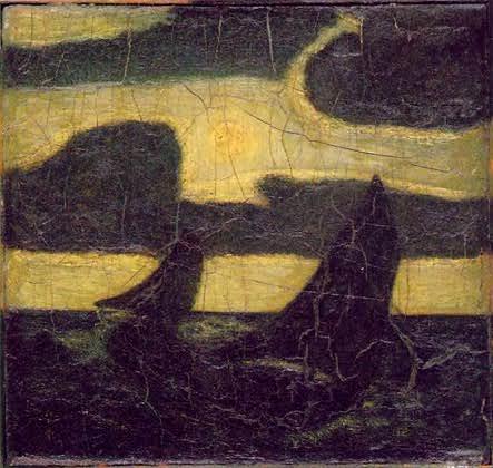 Albert Pinkham Ryder  ryder_moonlight_marine