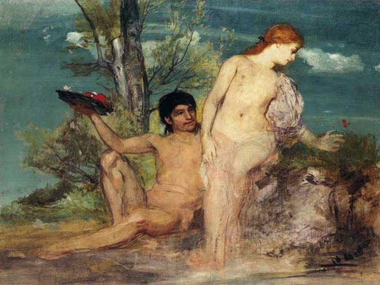 Arnold Böcklin _Calypso et Ulysse