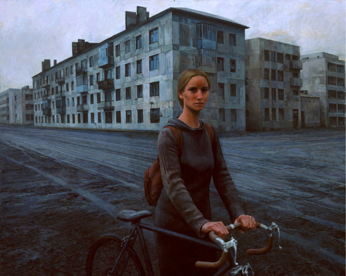 Aron Wiesenfeld Girl_with_Bike