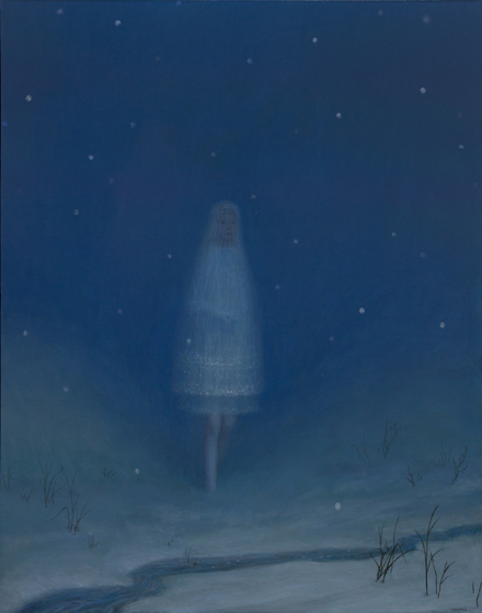 Aron Wiesenfeld Snow_as_a_Girl