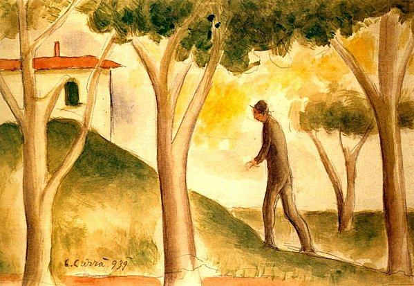 Carlo Carra -Verso-casa--1939