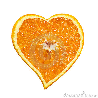 coeur-orange