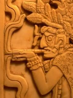 fumeur Maya