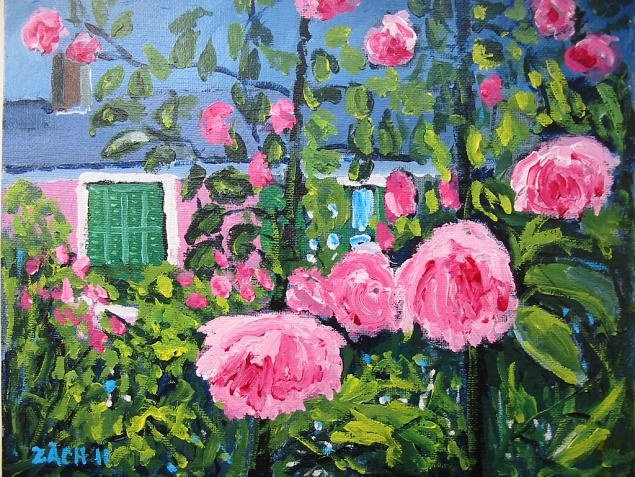 maison roses