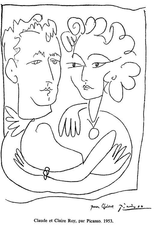 Picasso Claude et Claire Roy