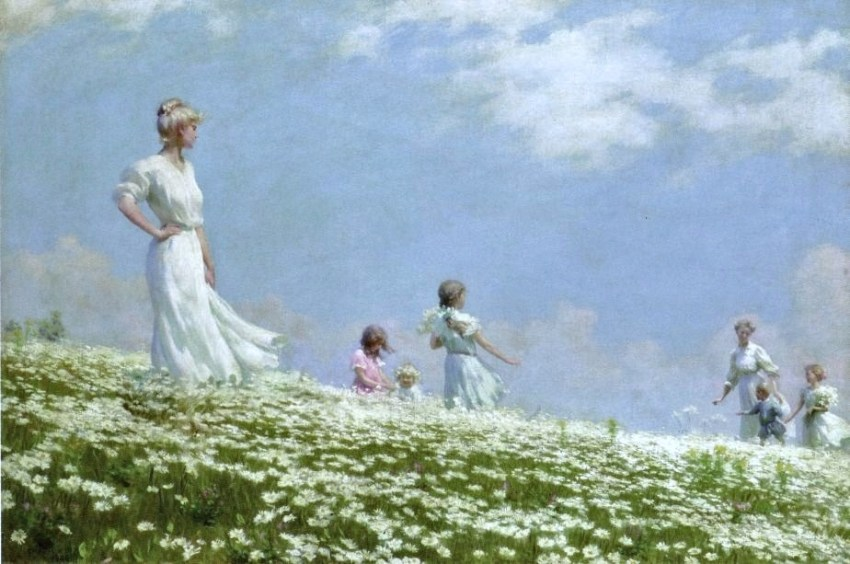 Charles Courtney Curran (1861-1942)  Summer 1906