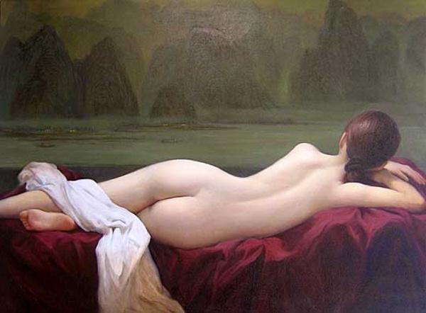 Dongmin Lai reclining-nude-ii