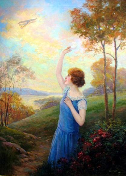 F.R. Harper waving-goodbye