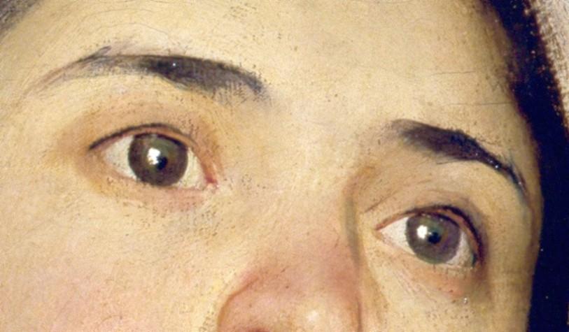 Giuseppe Pellizza da Volpedo-Ricordo di un dolore (detail)