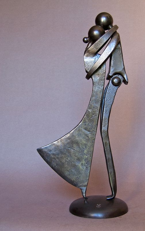 Jean-Pierre Augier_Couple (hache)