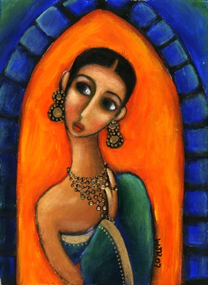 saree-painting