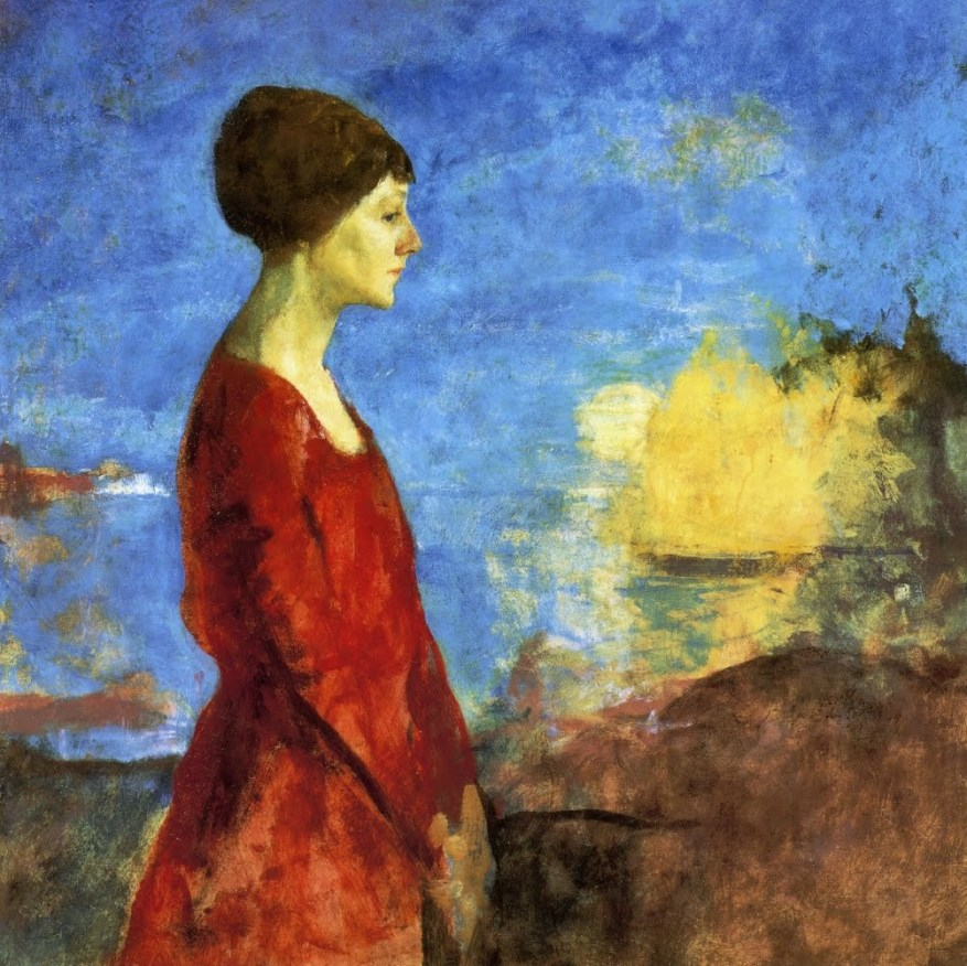 Charles Webster Hawthorne Portrait of Miss Wilson, 1927