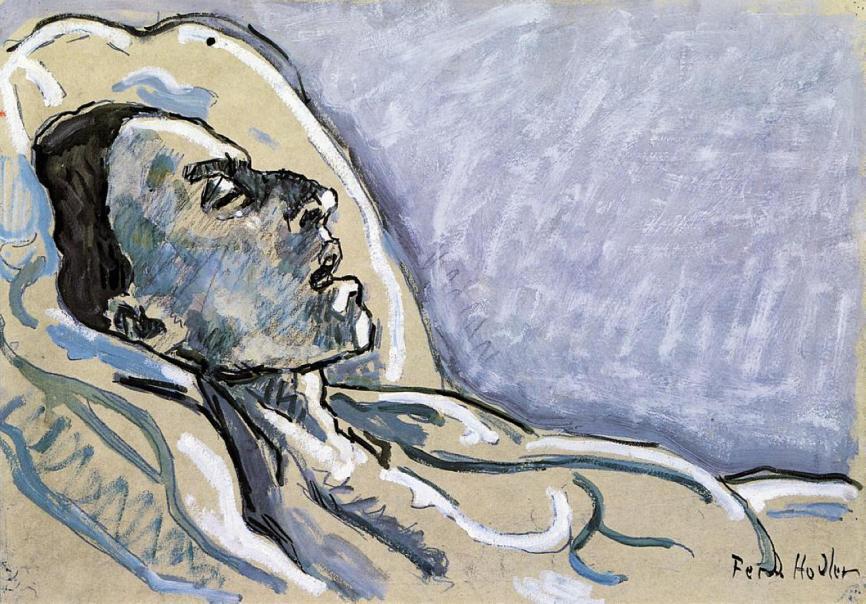 Ferdinand Hodler the-dying-valentine-gode-darel