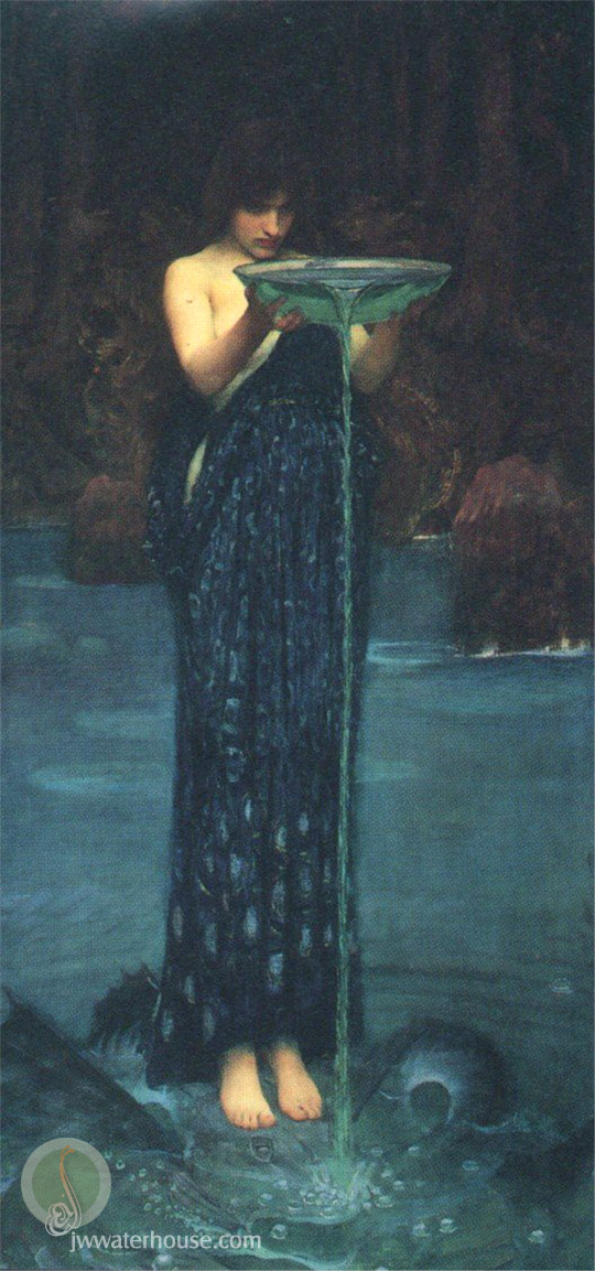 John-William Waterhouse  Circé
