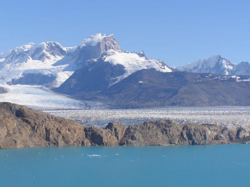 lac de glacier  Patagonie