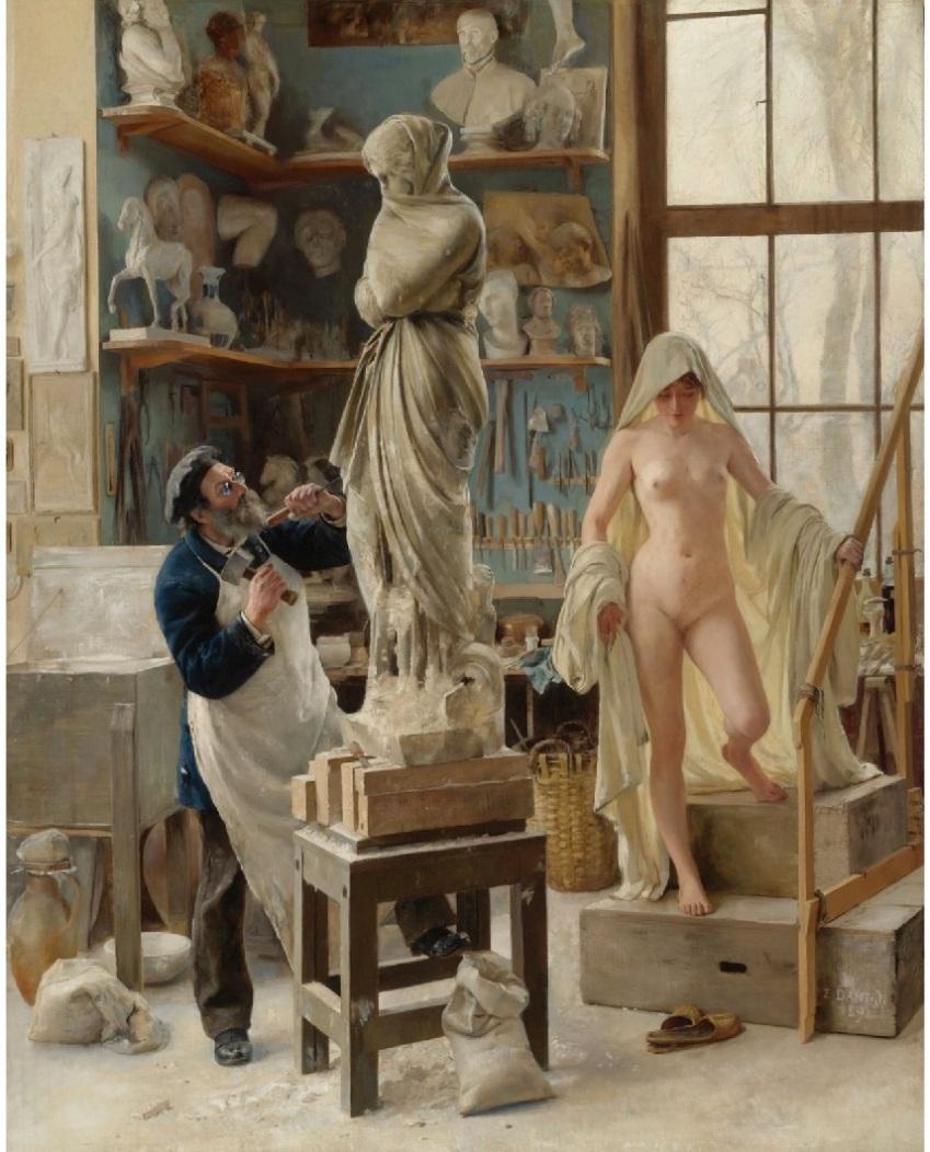 Édouard Joseph Dantan Une-restauration-1891-Edouard-Joseph-Dantan