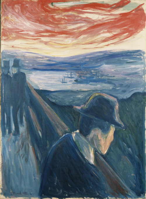 Edvard Munch, Despair  500