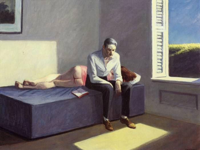 Edward Hopper _Excursion into Philosophy