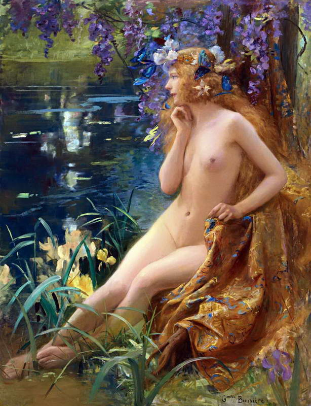 Gaston Bussiere (French, 1862-1929)   Juventa