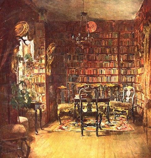 Harriet Backer Bibliothèque  013