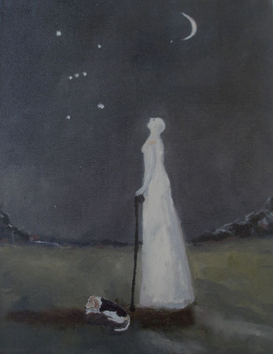 Jeanie Tomanek beneath orion