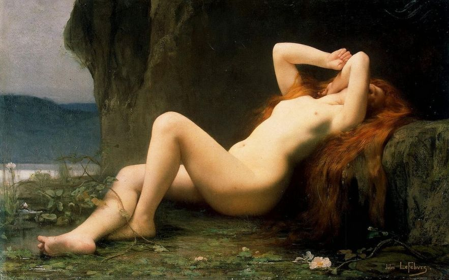 Jules Joseph Lefebvre    Marie-Madeleine-dans-la-grotte-1876-Jules-Joseph-Lefebvre