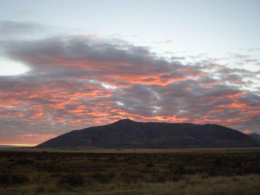 lever de soleil en Argentine