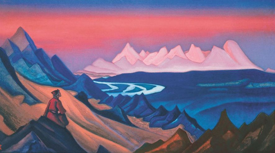 Nicholas Roerich . Song of Shambhala