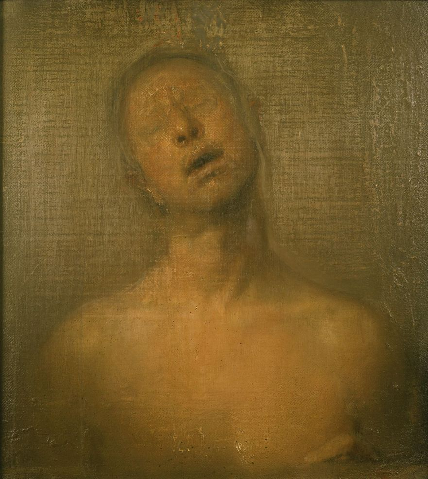 Odd Nerdrum Self-Portrait-with-Glasses-FO-18135